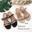 รองเท้าแตะคาดlv B4-382-ดำ (สีดำ) thumbnail 2