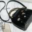 กระเป๋าสะพายกระเป๋าถือ แฟชั่นนำเข้าสไตล์งานปัก AX-12302-BLK (สีดำ) thumbnail 5