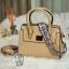 กระเป๋าสะพายกระเป๋าถือ แบบขายดี๊ดี SY-1704-CRM (สีครีม) thumbnail 2