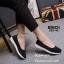 รองเท้าผ้าใบพื้นสุขภาพ 265-42-ดำ (สีดำ) thumbnail 4