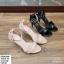 พร้อมส่ง รองเท้าส้นเข็มรัดข้อ K5906-PNK [สีชมพู] thumbnail 3