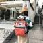 กระเป๋าเป้แฟชั่นงานนำเข้าสไตล์แบรนด์ดัง MB18-01904-ORA (สีส้ม) thumbnail 3
