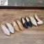 พร้อมส่ง รองเท้าคัชชูส้นเหลี่ยม D600303-BLK [สีดำ] thumbnail 2