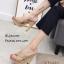 รองเท้าแตะส้นสูงแบบสวมไขว้ 3006-5-กากี (สีกากี) thumbnail 2
