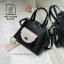 กระเป๋าสะพายกระเป๋าถือ นำเข้างานสวยเก๋ส์ แบรนด์ axixi AXI-A12385-BLK (สีดำ) thumbnail 2