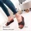 รองเท้าเตารีดสวมลายตาราง 981-107-ตาล (สีน้ำตาล) thumbnail 2