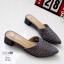 รองเท้าหัวแหลมสีเทา สไตล์ซาร่าห์ LB-10184-เทา thumbnail 2
