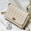 กระเป๋าสะพายกระเป๋าถือ แฟชั่นนำเข้าดีไซน์สุดหวาน AX-12292-CRM (สีครีม) thumbnail 2