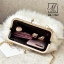กระเป๋าสะพายกระเป๋าถือกระเป๋าขน แฟชั่นนำเข้าแบบขน fur สุดนุ่ม MB-17062-RED (สีแดง) thumbnail 5