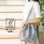 กระเป๋าสะพายกระเป๋าถือ แฟชั่นนำเข้าทรงขนมจีบ AX-12177-GRY (สีเทา) thumbnail 3