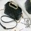 กระเป๋าสะพายกระเป๋าถือ ดีไซน์สุดเก๋ส์ นำเข้า 12300-BLK (สีดำ) thumbnail 5