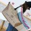 กระเป๋าแฟชั่นนำเข้า Style Victoria's secret BAI-201-GLD (สีทอง) thumbnail 4