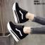 รองเท้าผ้าใบสีดำ งานนำเข้า100% ST921-BLK thumbnail 5