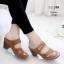 รองเท้าเพื่อสุขภาพสีน้ำตาล งานชู-ลิ-ซึ่ LB-10181-น้ำตาล thumbnail 1