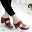 รองเท้าสุขภาพสีม่วง พื้นนุ่ม LB-10180-ม่วง thumbnail 1