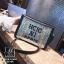 กระเป๋าแฟชั่นงานนำเข้าทรงยอดฮิตปักเลื่อมวิ๊บวับ MB18-01604-SIL (สีเงิน) thumbnail 3
