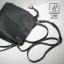 กระเป๋าสะพายกระเป๋าถือ แฟชั่นนำเข้า design เรียบหรู 12233-BLK (สีดำ) thumbnail 3