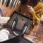กระเป๋าสะพายกระเป๋าถือ แฟชั่นนำเข้าทรงยอดฮิตแบบแบรนด์ดัง MB18-01001-BLK (สีดำ) thumbnail 5