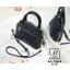 กระเป๋าสะพายกระเป๋าถือ แฟชั่นนำเข้าสไตล์คุณหนู AX-12363-BLU (สีน้ำเงิน) thumbnail 4