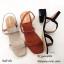 รองเท้าแตะ2สายรัดส้น 1173-ครีม (สีครีม) thumbnail 5