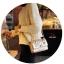 กระเป๋าแฟชั่นนำเข้าสะพายข้าง style CHANEL WFO-0001-GLD (สีทอง) thumbnail 2