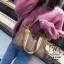 กระเป๋าสะพายกระเป๋าถือ แฟชั่นนำเข้าทรงยอดฮิตแบบแบรนด์ดัง MB18-01001-BRO (สีน้ำตาล) thumbnail 3