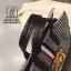 กระเป๋าสะพายกระเป๋าถือ แฟชั่นงานนำเข้าใบใหญ่สไตล์แบรนด์ดัง MB18-01401-BLK-WHT [สีดำ/ขาว] thumbnail 3