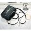 กระเป๋าสะพายกระเป๋าถือ แฟชั่นนำเข้าสไตล์คุณหนู AX-12343-BLK (สีดำ) thumbnail 3