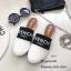รองเท้าแตะทรงสลิปเปอร์ เปิดส้นgivenchy G611-ขาว (สีขาว) thumbnail 2