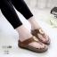 รองเท้าสุขภาพสีกากี พื้นนุ่ม LB-10182-กากี thumbnail 1