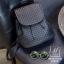 กระเป๋าเป้แฟชั่นนำเข้าพิมพ์ลายแบบสานสวยเก๋ส์ MB18-01703-BLK (สีดำ) thumbnail 1