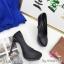 พร้อมส่ง รองเท้าคัชชูงานเกาหลีนำเข้า K9316-BLK [สีดำ] thumbnail 4