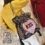 กระเป๋าสะพายกระเป๋าถือกระเป๋าปักเลื่อม แฟชั่นนำเข้าปักเลื่อมสุด cool MB18-00702-MIX [สีรุ้ง] thumbnail 4