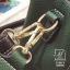 กระเป๋าแฟชั่นนำเข้าดีไซน์สุดเก๋ส์ B12019-GRN (สีเขียว) thumbnail 5