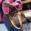 กระเป๋าสะพายกระเป๋าถือ แฟชั่นนำเข้าทรงยอดฮิตแบบแบรนด์ดัง MB18-01001-BRO (สีน้ำตาล) thumbnail 2