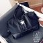 กระเป๋าสะพายกระเป๋าถือกระเป๋าเดินทาง TRAVEL BAG ดีไซน์เก๋ส์ MB-17055-BLK (สีดำ) thumbnail 2