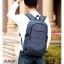 แบบมาใหม่ กระเป๋าเป้ผู้ชาย ดีไซน์สุดเท่ห์ BAG-068-น้ำเงิน (สีน้ำเงิน) thumbnail 3