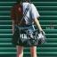 กระเป๋าแฟชั่นนำเข้า ด้านหน้าสกรีน PINK BAI-276-BLK (สีดำ) thumbnail 4