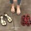 รองเท้าแตะผู้หญิงรัดส้นสีขาว Celine sandals LB-C55-1-WHI thumbnail 1