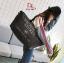 กระเป๋าแฟชั่นนำเข้า Style Victoria's secret BAI-201-BLK (สีดำ) thumbnail 3