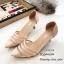 รองเท้าคัชชูข้างใสสีครีม B13-513-ครีม thumbnail 1
