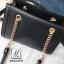 กระเป๋าแฟชั่นงานนำเข้าทรงยอดฮิตปักเลื่อมวิ๊บวับ MB18-01604-BLK (สีดำ) thumbnail 5