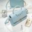 กระเป๋าสะพายกระเป๋าถือ แฟชั่นนำเข้าสไตล์คุณหนู AX-12343-BLU (สีน้ำเงิน) thumbnail 4