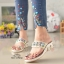 รองเท้าแตะคีบโป้งโบฮีเมียนสีขาว สวยล้ำ 316-1-ขาว thumbnail 1