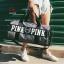 กระเป๋าแฟชั่นนำเข้า ด้านหน้าสกรีน PINK BAI-276-GRY (สีเทา) thumbnail 2