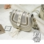 กระเป๋าสะพายกระเป๋าถือ ทรงกลมดีไซน์สุดเก๋ส์ แบรนด์ axixi AX-12432-CRM (สีครีม) thumbnail 5