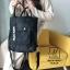 กระเป๋าสะพายเป้ เป้แฟชั่นงานนำเข้าสไตล์เกาหลี MB18-00501-BLK (สีดำ)