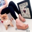 รองเท้าแตะเสริมส้นแบบสวม 981-82-ตาล (สีน้ำตาล) thumbnail 2