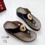 รองเท้าสุขภาพสีดำ พื้นนุ่ม LB-10182-ดำ thumbnail 2