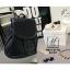 กระเป๋าเป้แฟชั่นนำเข้าพิมพ์ลายแบบสานสวยเก๋ส์ MB18-01703-BLK (สีดำ) thumbnail 2